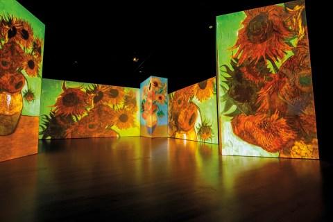 Van Gogh Alive – the experience στη Θεσσαλονίκη- Δ.Βασιλειάδη