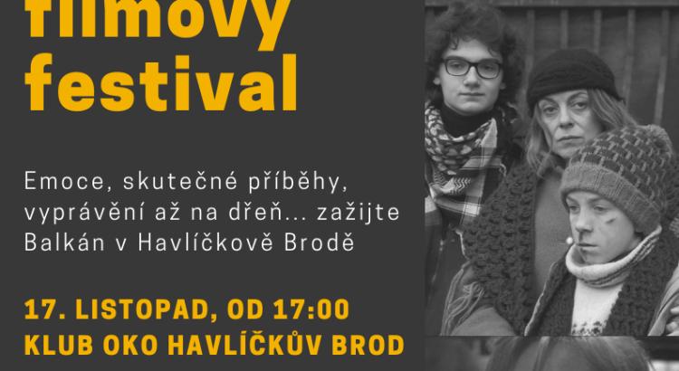 Balkánský filmový festival plakát