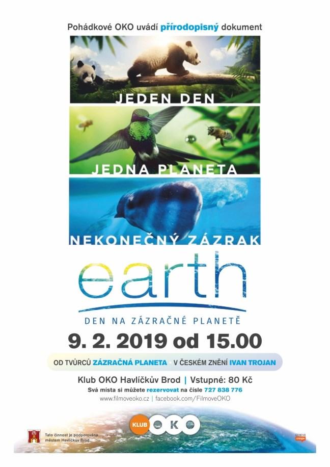 Zveme vás na dokument pro celou rodinu Earth: Den na zázračné planetě