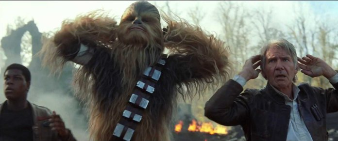 Star Wars The Force Awakens Chewie