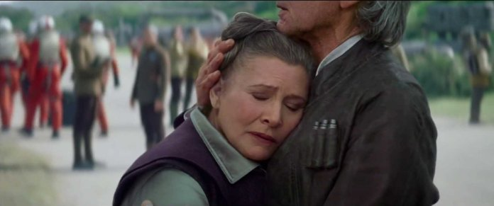Star Wars The Force Awakens Leia and Han