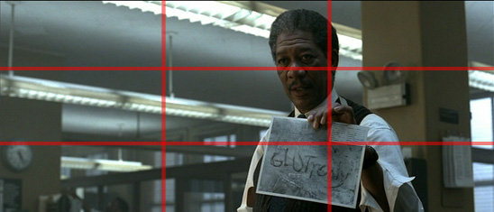 Image result for rule of thirds in famous films