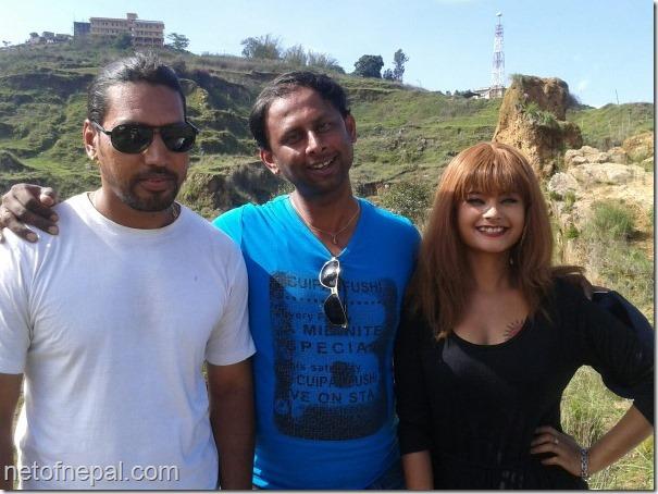 RAJU GIRI with actress sushma karki and actor