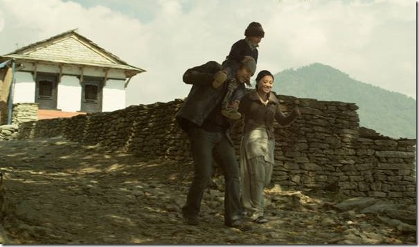 highway to dhumpus Sayush Gurung Bajracharya, Raj Ballav Koirala and Suesha Rana in Highway to Dhampus