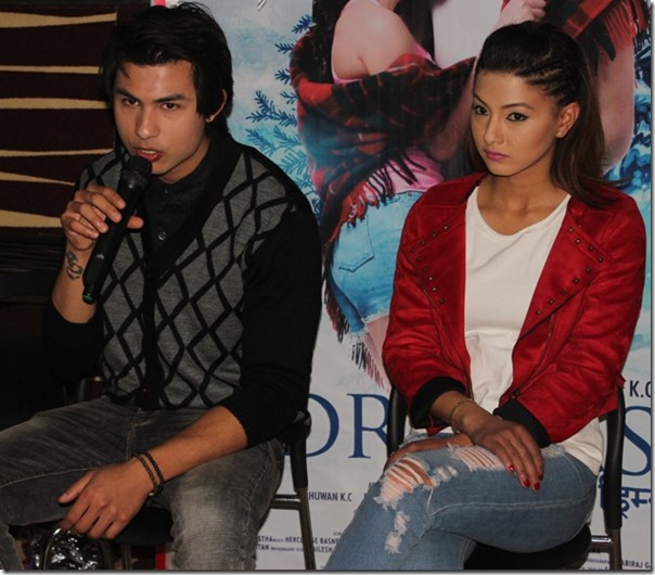 dreams press meet anmol and samragyee