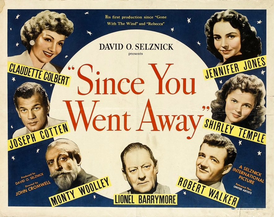 'SINCE YOU WENT AWAY' (1944) - Wartime drama at its best.