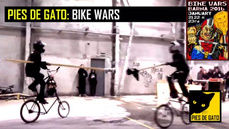 PIES DE GATO - BIKE WARS