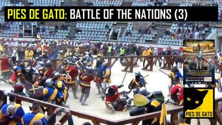 PIES DE GATO - BATTLE OF THE NATIONS 3 29-4-2017