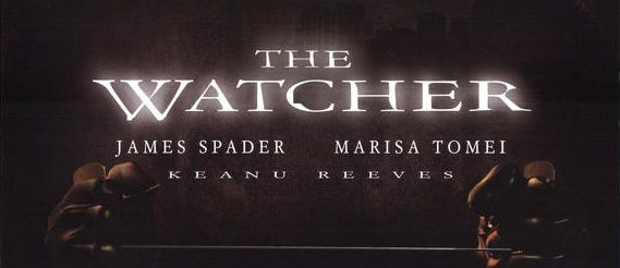 the watcher poster film trap april etmanski