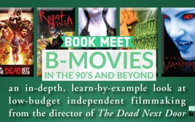 Book Meet: B-Movies in the 90's and Beyond by J.R Bookwalter (Video Review)