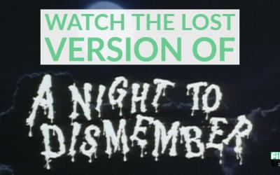 WATCH: The LOST version of Doris Wishman's A NIGHT TO DISMEMBER