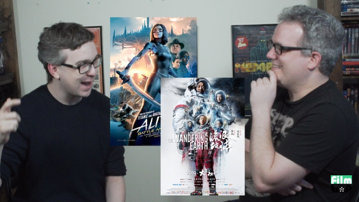 The ICC Super Show #3 – Alita Battle Angel and The Wandering Earth