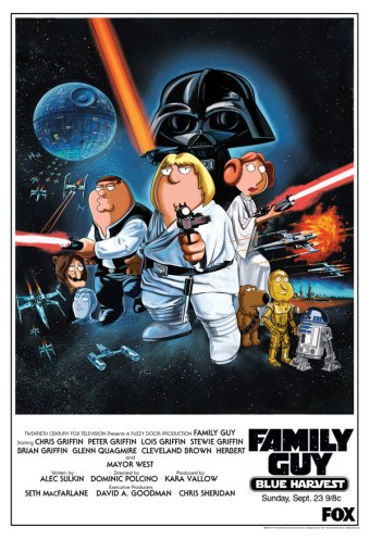 family_guy_star_wars_poster_blue_harvest