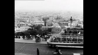 A tourist bus in Paris
