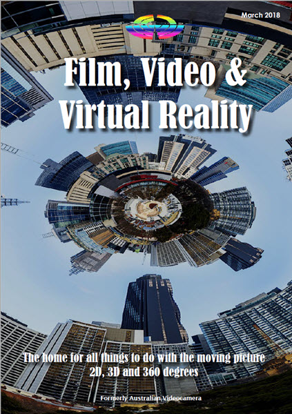 Film, Video and Virtual Reality Feb 2018