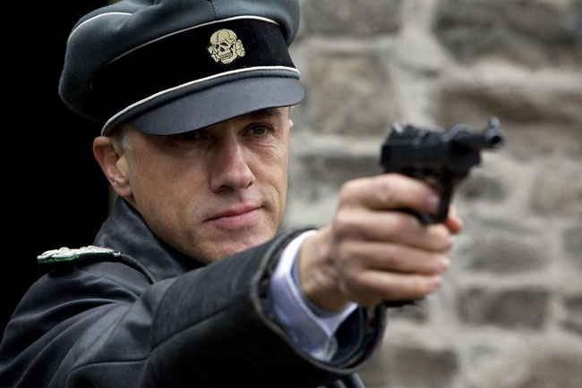"Christoph Waltz in ""Inglourious Basterds"""