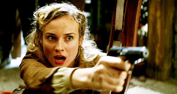 "Diane Kruger in ""Inglourious Basterds"""