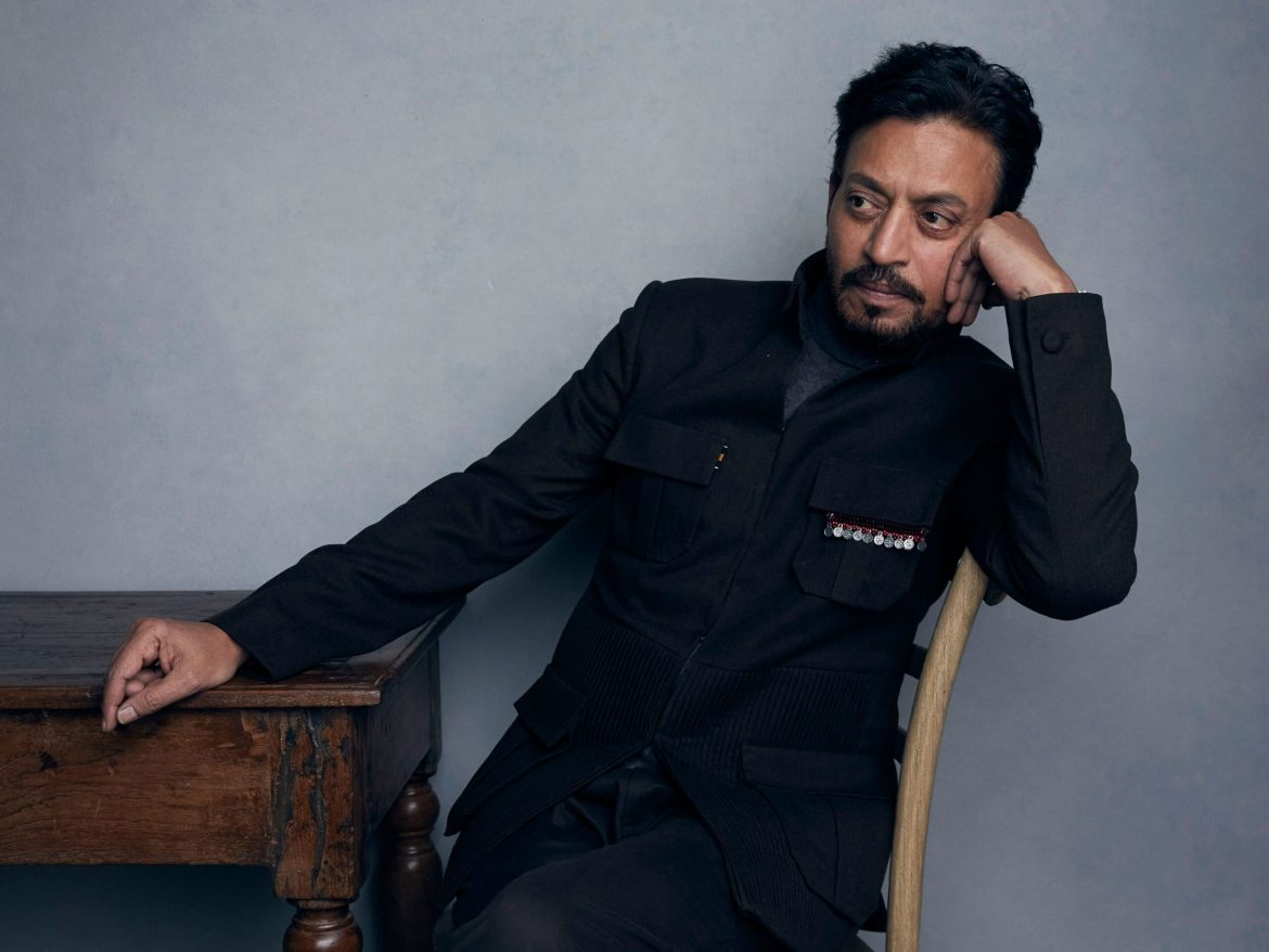 """Mandatory Credit: Photo by Taylor Jewell/Invision/AP/Shutterstock (9794675b) Actor Irrfan Khan poses for a portrait to promote the film """"Puzzle"""" during the Sundance Film Festival in Park City, Utah. Khan has appeared in films such as """"Slumdog Millionaire"""" and """"Jurassic World,"""" but now the actor is facing the biggest challenge of his life as he undergoes treatment for cancer in London Film Irrfan Khan, Park City, USA - 22 Jan 2018"""
