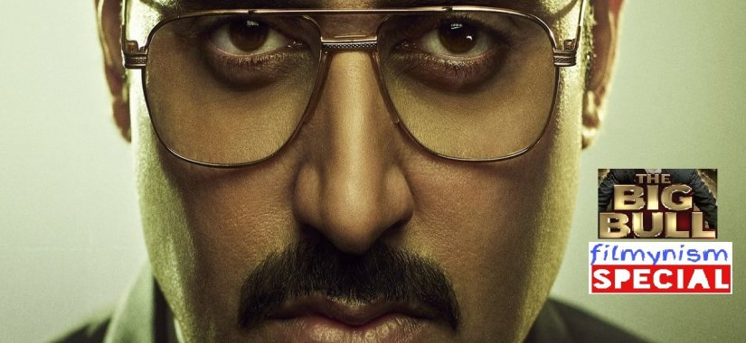 Abhishek Bachchan in The Big Bull on DisneyPlusHotstar-Filmynism