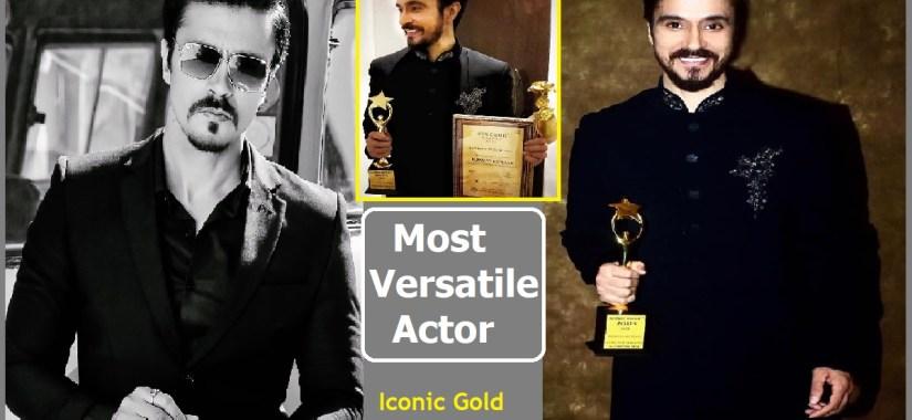 Darshan Kumar Got Iconic Gold Award-Filmynism