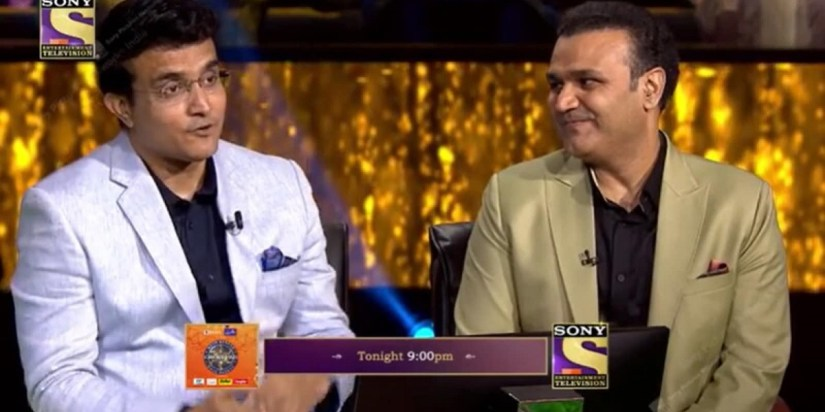 Virender Sehwag and Sourav Ganguly on Hot Seat with Amitabh Bachchan's KBC-Filmynism
