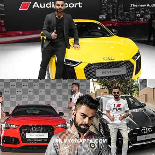 Virat Kohli Cars Collections