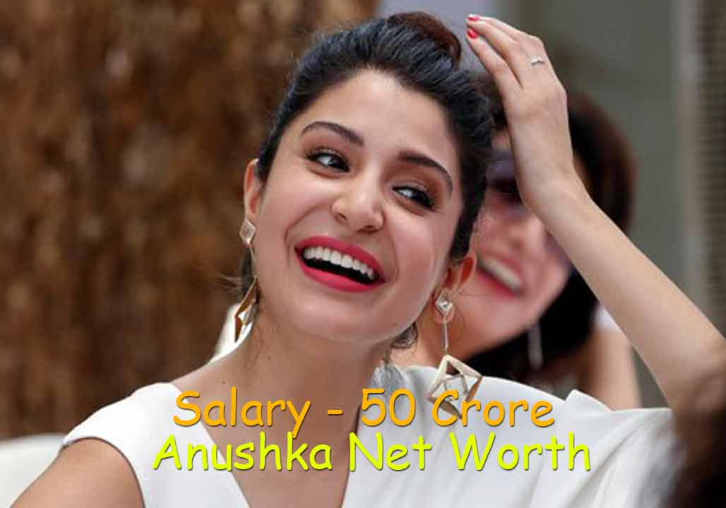 Anushka Sharma Net Worth 2021