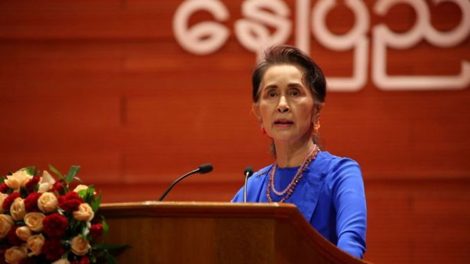 Military coup in Myanmar, Aung San Suu Kyi detained