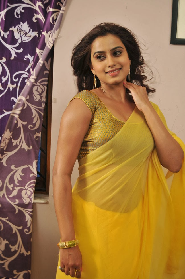 Dimple Chopra Hot In Yellow Saree VISIT WwwFILMYBOLin
