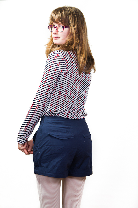Short Châtaigne et tee-shirt Plantain - Filomenn
