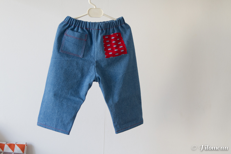 Pantalon matelot - Filomenn
