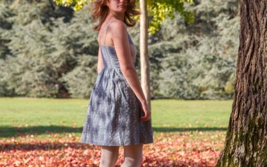 Jolie robe Centaurée