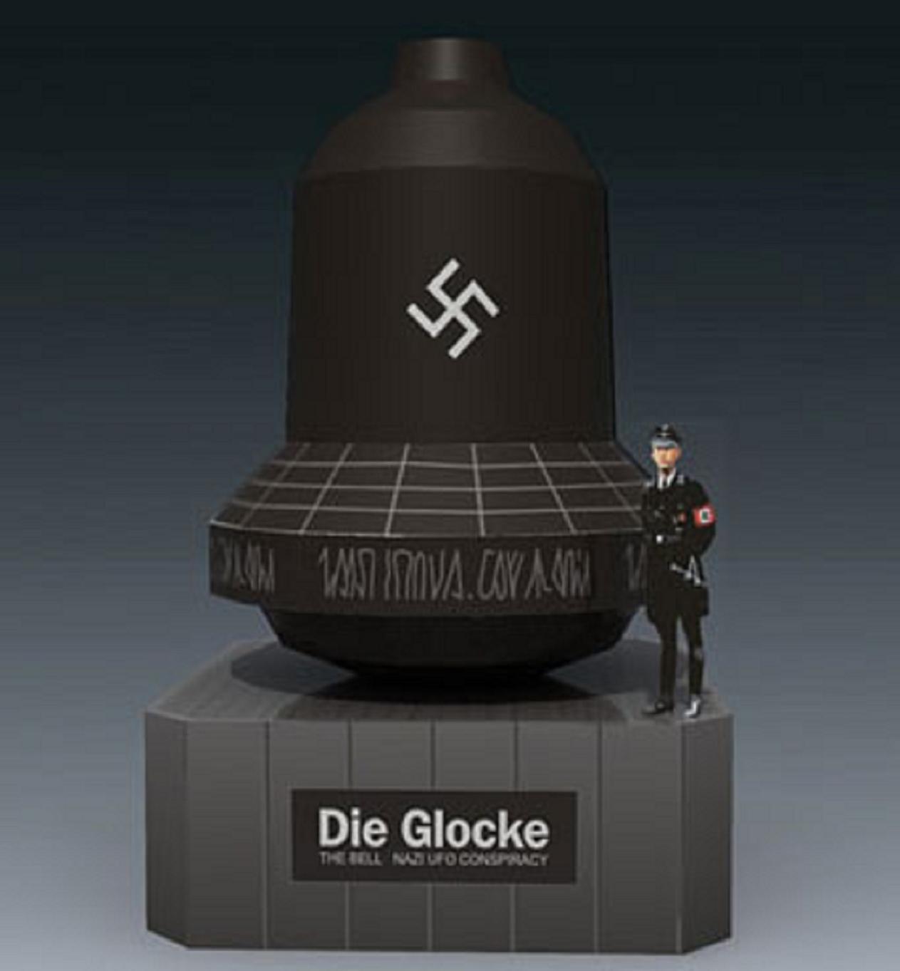 Ο Στρατηγός των SS Jacob Sporrenberg. αποκάλυψε σε ένορκη κατάθεση του την ύπαρξη ενός μυστικού σχεδίου με το όνομα «Die Glocke» («Η Καμπάνα»). Οι θεωρίες περί αυτού του σχεδίου είναι ποικίλες και αφορούν από όπλα αντιβαρύτητας, μέχρι και ατομική βόμβα.