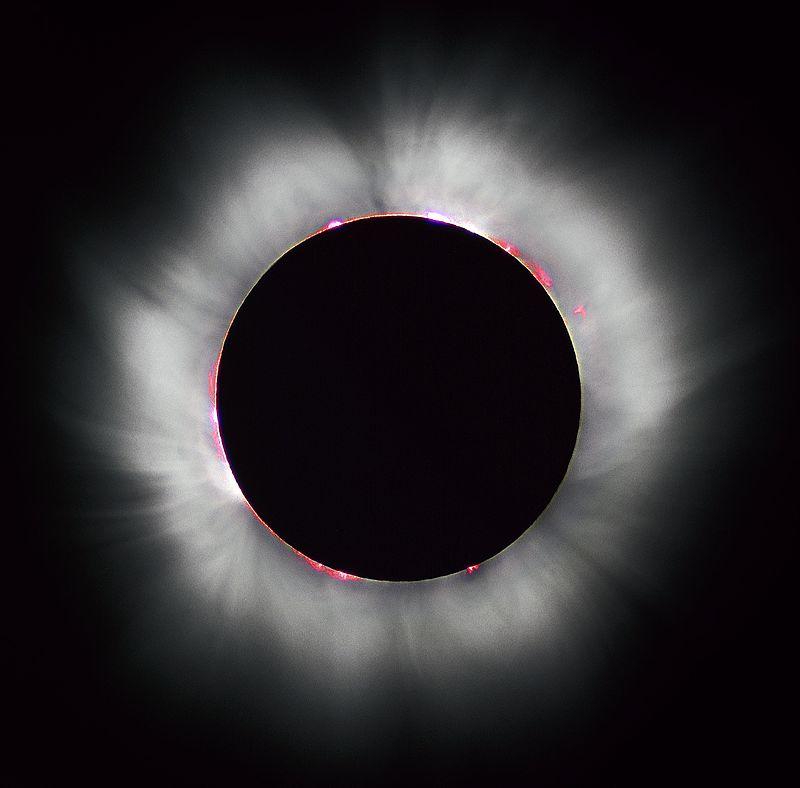 Сегодня полное солнечное затмение в США