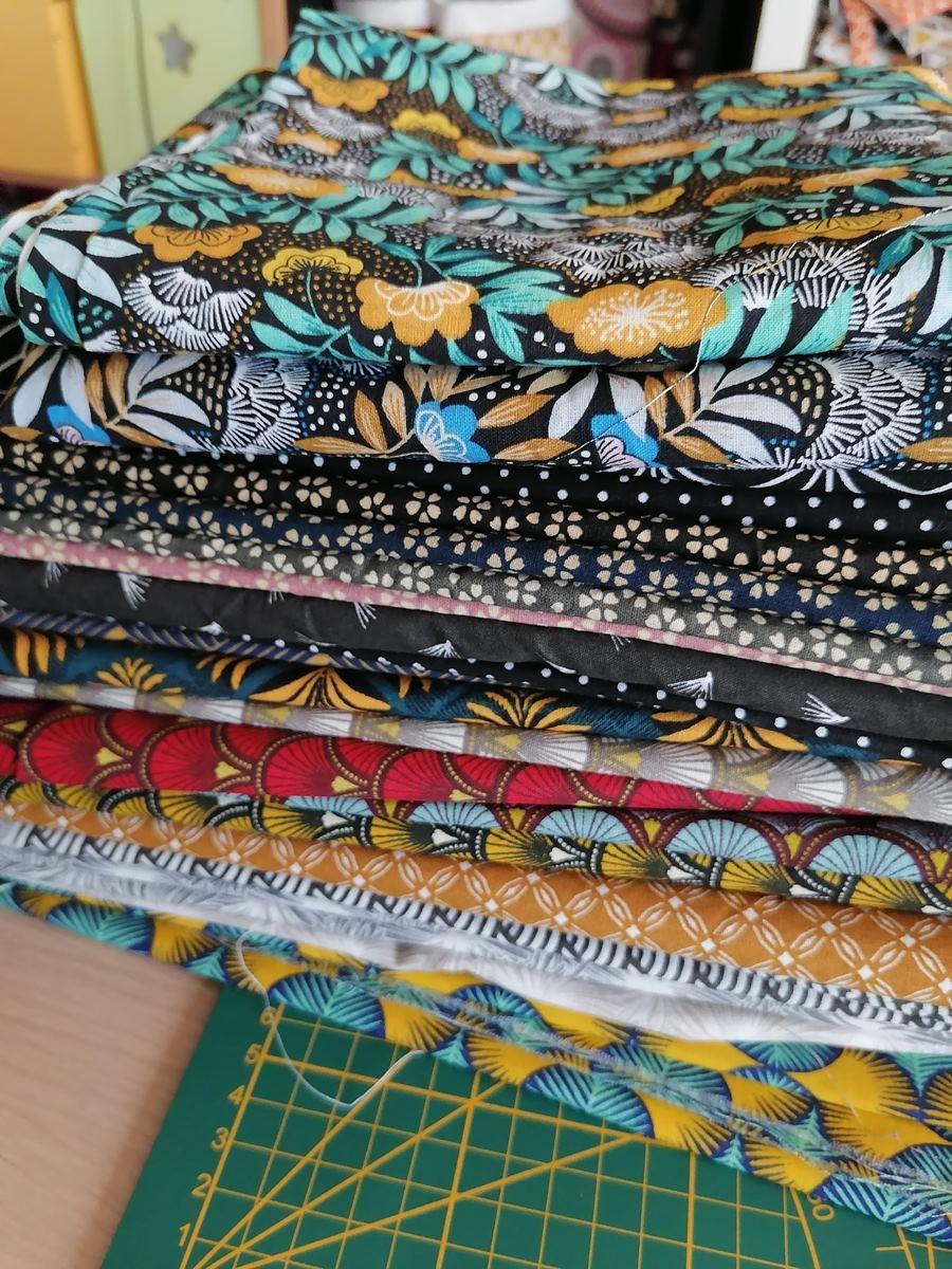 Tissuthèque de l'atelier. Catalogue de tissus