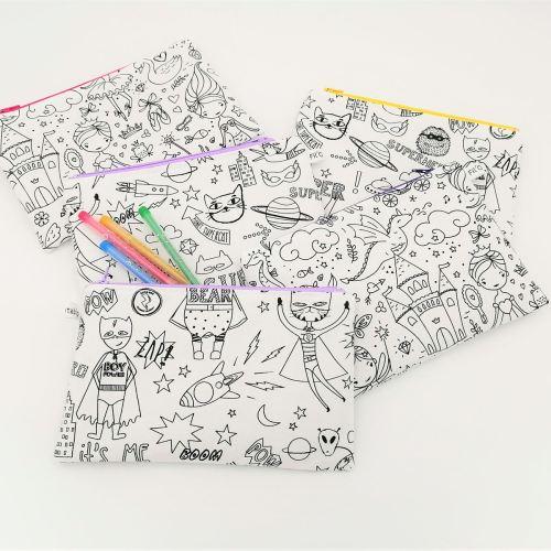 Trousse à colorier plusieurs motifs au choix