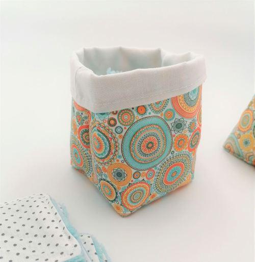 Panière pour carrés démaquillants lavables