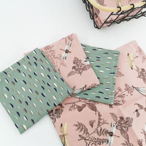 Les mouchoirs en tissu