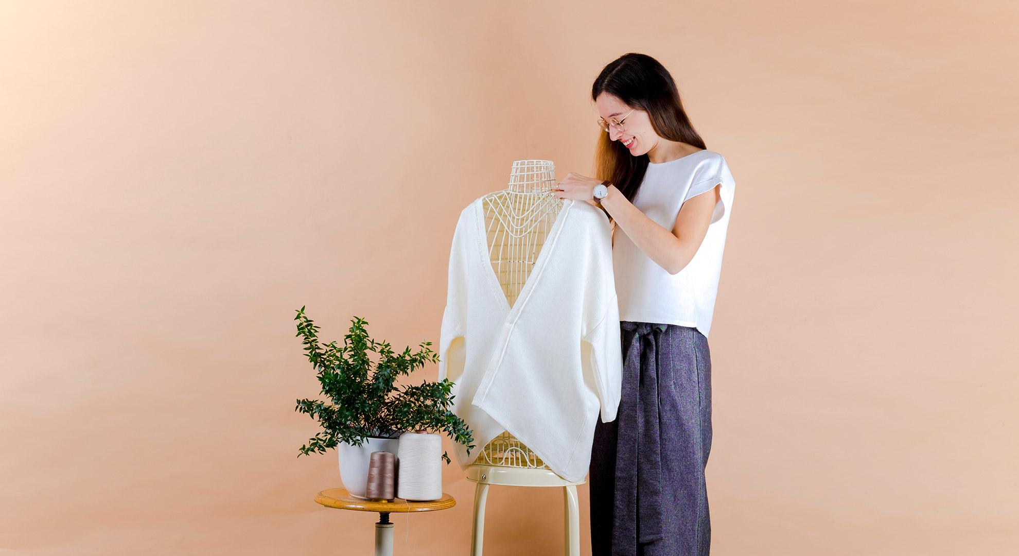 Gloria barana la creatrice di Filotimo abiti in tessuti naturali chi siamo