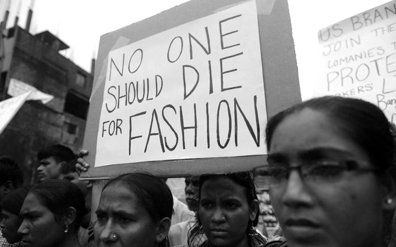 proteste dopo il crollo del rana plaza inizio della fashion revolution