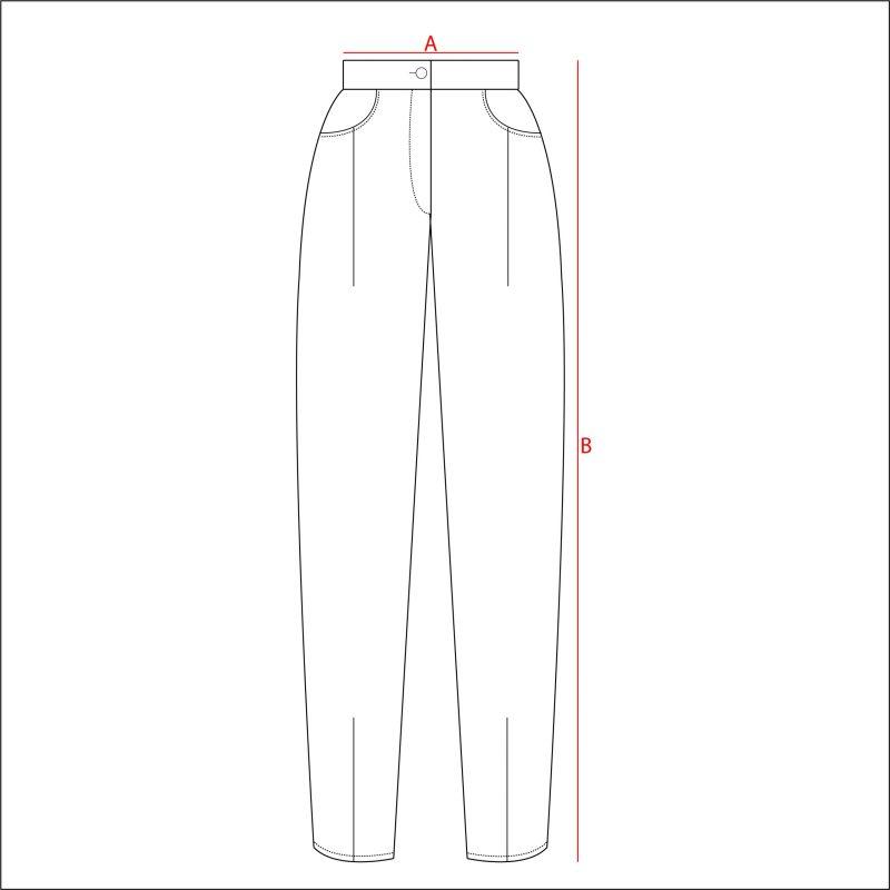 Filotimo pantalone ampio jeans