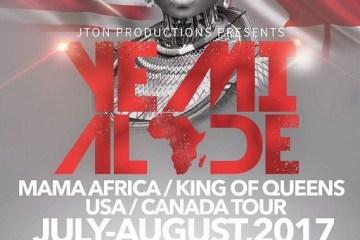 Yemi Alade's US/Canada Tour