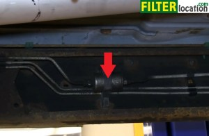 How change the fuel filter on GMC Sierra 20012003
