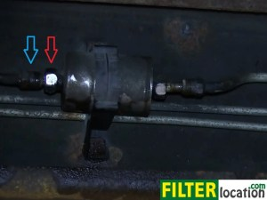 How change the fuel filter on GMC Sierra 20012003