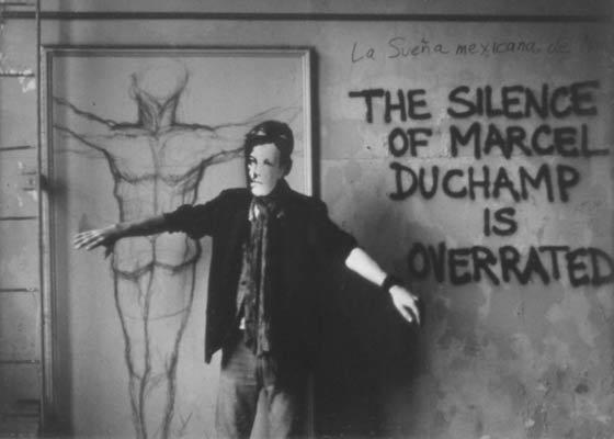 "David Wojnarowicz, ""Arthur Rimbaud in New York (Duchamp)"" (1978–79/2004), silver gelatin print (via leslielohman.org)"