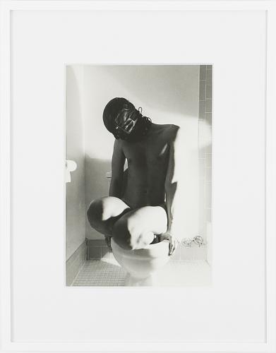 Jimmy DeSana, Toilet, 1978, black and white gelatin