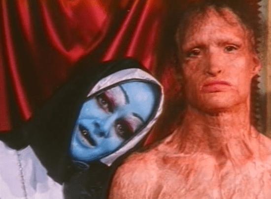 Scene from Zedd's film War is Menstrual Envy