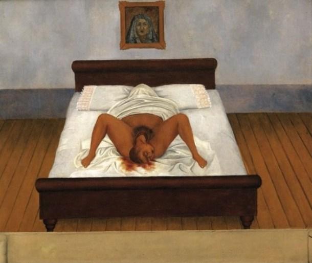 Frida Kahlo, My Birth, 1932