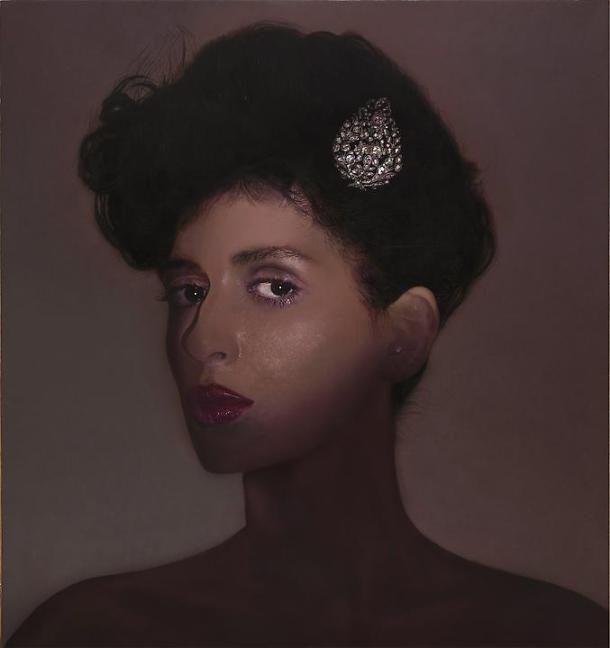 Taner Ceylan, Esma Sultan (The Lost Paintings Series), 2012, oil on canvas