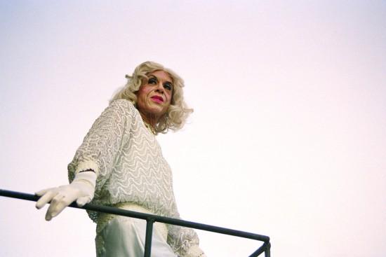 "Conrad VENTUR collaborations with Mario Montez: MM#23, 2011, photographic print, 16"" x 24"": Mario Montez photographed in New York City (all images courtesy Conrad Ventur)"